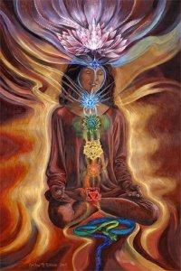 Chakra Lotus Meditation
