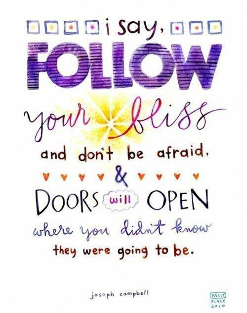 Follow Your Bliss Joseph Campbell