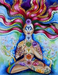 Glowing Chakra Meditation