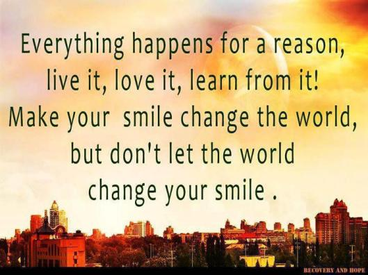 EverythingHappensForAReasonSMILE