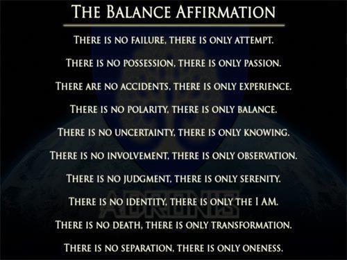 BalanceAffirmation