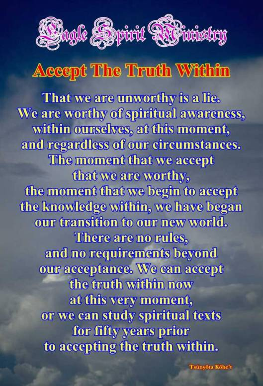 AcceptTheTruthWithinQuote