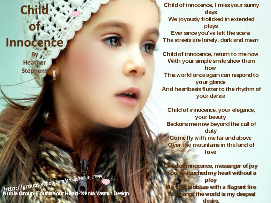ChildofInnocencePoem