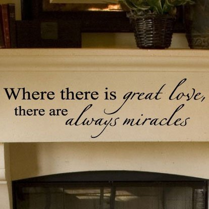 WhereThereIsGreatLoveMiracles