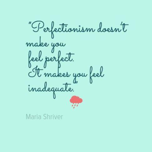 PerfectionismQuote