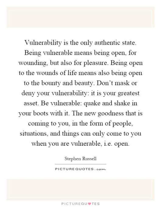 vulnerabilityquotestephenrussell