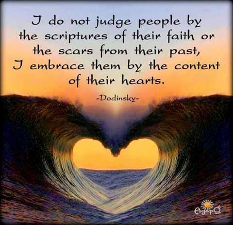 I Do Not Judge People By Quote Dodinsky